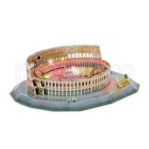 Пъзел 3D CubicFun Colosseum 185 части с LED светлини