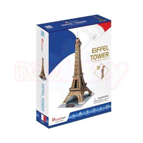 Пъзел 3D CubicFun Eiffel Tower 35 части