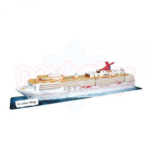 Пъзел 3D CubicFun Gruise Ship 86 части