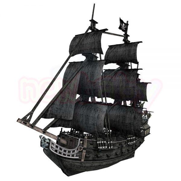 Пъзел 3D CubicFun Кораб Queen Annes 308 части