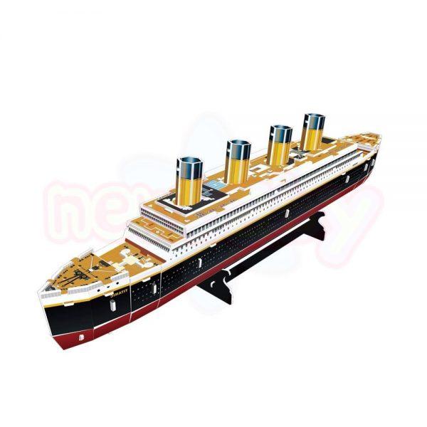 Пъзел 3D CubicFun Кораб Titanic 113 части