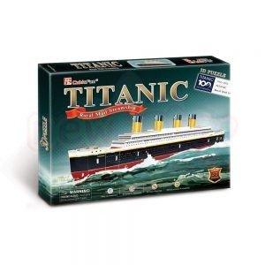 Пъзел 3D CubicFun Кораб Titanic 35 части