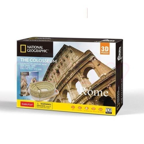 Пъзел 3D CubicFun National Geographic The Colosseum 131 части
