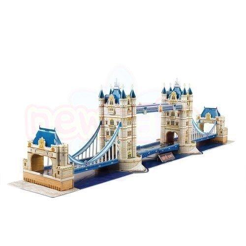Пъзел 3D CubicFun National Geographic Tower Bridge 120 части
