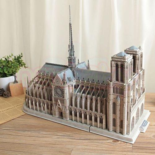 Пъзел 3D CubicFun Notre Dame de Paris 293 части