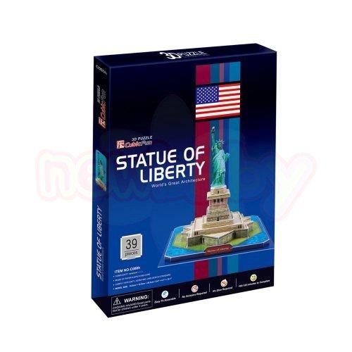 Пъзел 3D CubicFun Statue of Liberty U.S.A 30 части