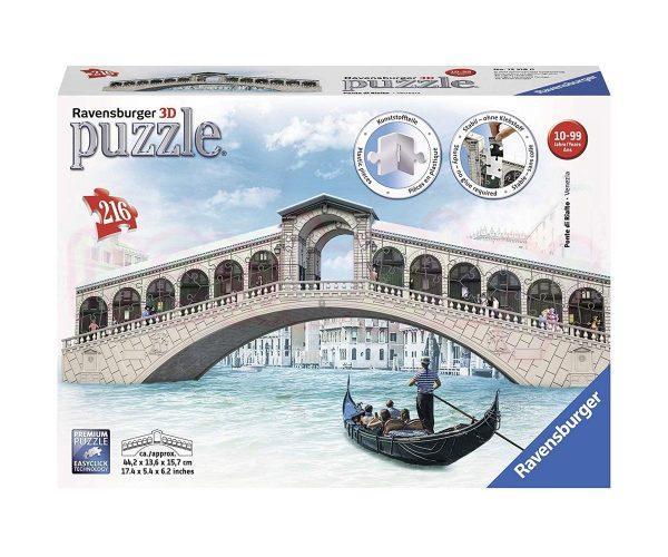 Пъзел 3D Ravensburger Мост Риалто