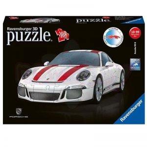 Ravensburger Пъзел 3D 10+ Porsche 911 108 части 12528