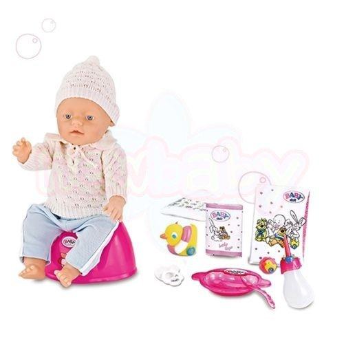 Пишкаща Кукла 8 функции WARM BABY