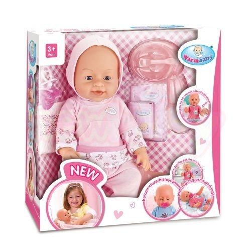 Пишкаща Кукла с гърне Warm Baby 8009-431x8