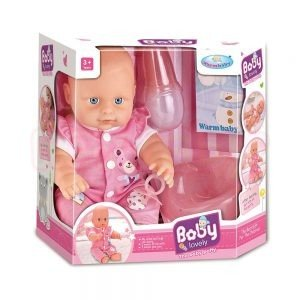 Пишкащо Бебе с памперс Warm Baby WZJ008A 1x12