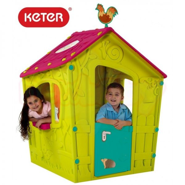 Пластмасова къща за игра Keter Magic Playhouse