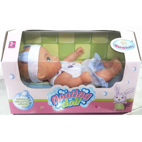 Плаваща Кукла WARM BABY Floating Doll