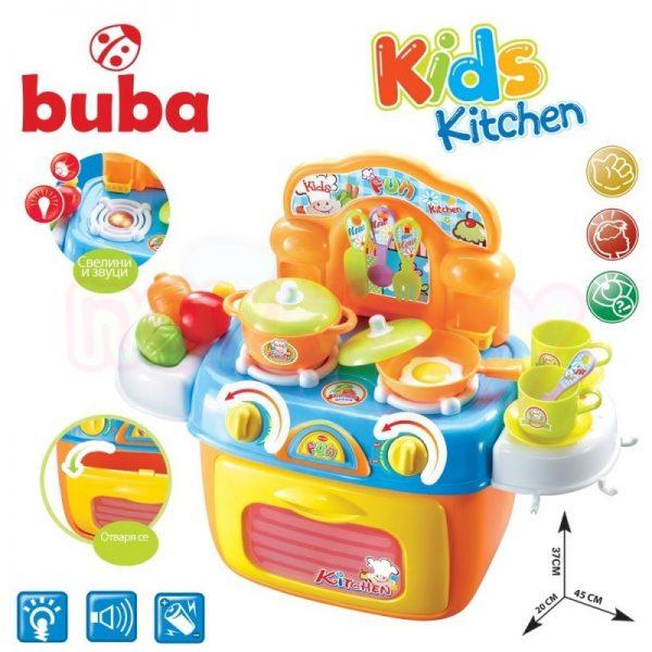 Забавна преносима детска кухня Buba Kids Kitchen Fun