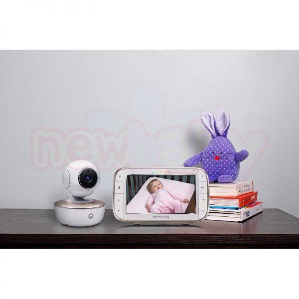 Бебефон Motorola MBP855 Connect с камера и Wi-Fi