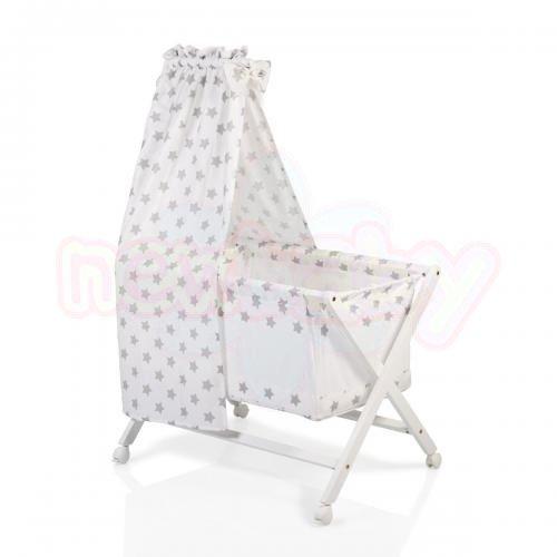 Бебешко дървено легло Cangaroo Cassy