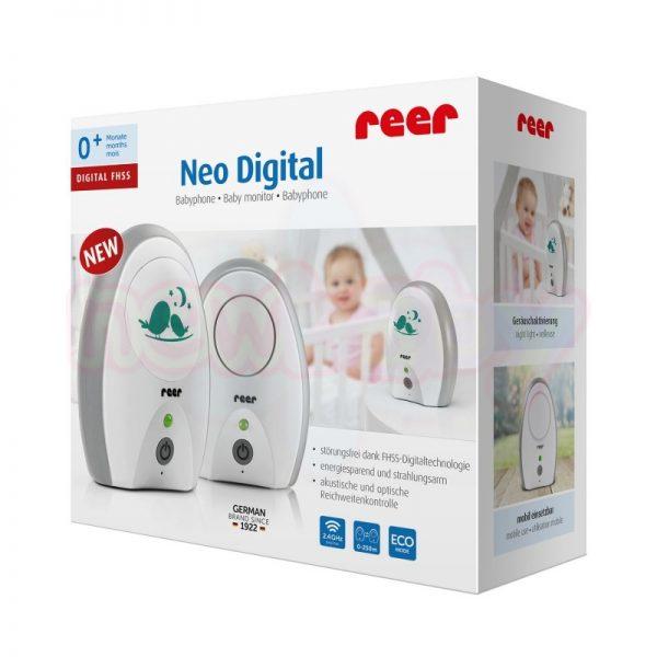 Дигитален бебефон Reer Neo