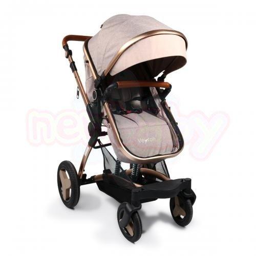 Комбинирана бебешка количка Moni Veyron