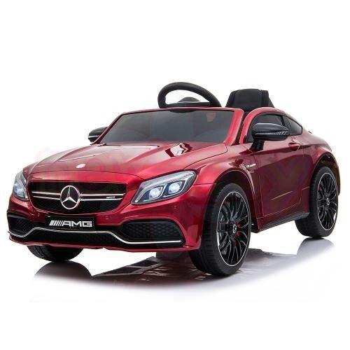 Акумулаторна кола Mercedes C63s QY1588 Металик
