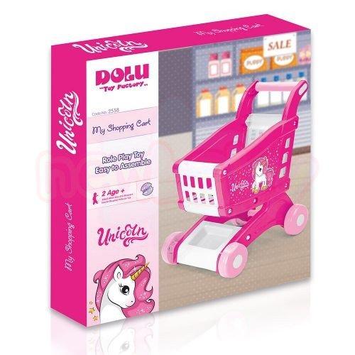 Детска количка за пазаруване Dolu Unicorn