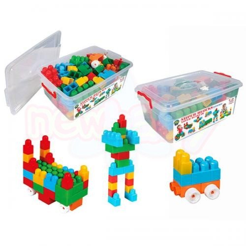 Детски конструктор 80 елемента LUX Pilsan