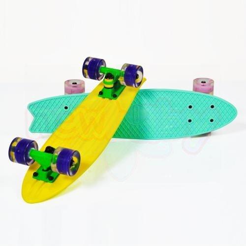 Детски скейтборд Byox Pastel Светещо колела