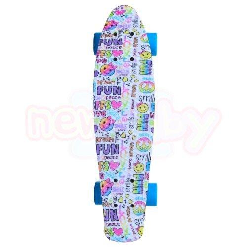 Детски скейтборд Byox Peace 22