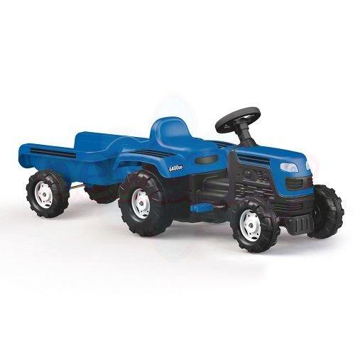 Детски трактор с педали и ремарке Dolu