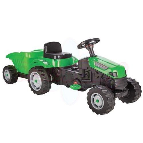 Детски трактор с ремарке Pilsan ActiveДетски трактор с ремарке Pilsan Active