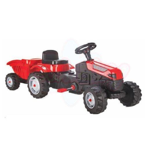 Детски трактор с ремарке Pilsan Active