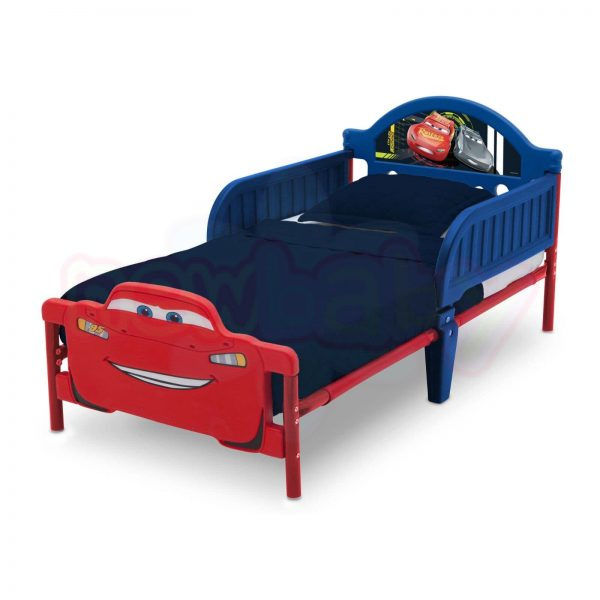 Детско легло Delta Children Cars с 3D изображение