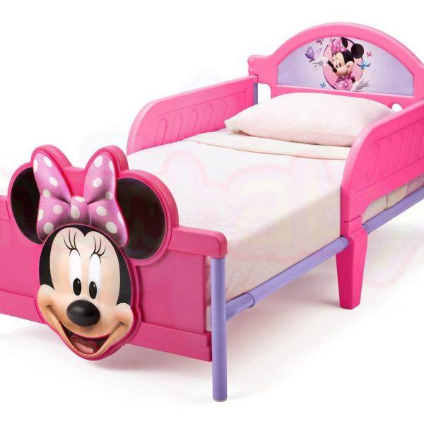Детско легло Delta Children Minnie Mouse с 3D изображение