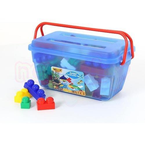 Конструктор в кутия Малък строител 114 елемента Polesie Toys