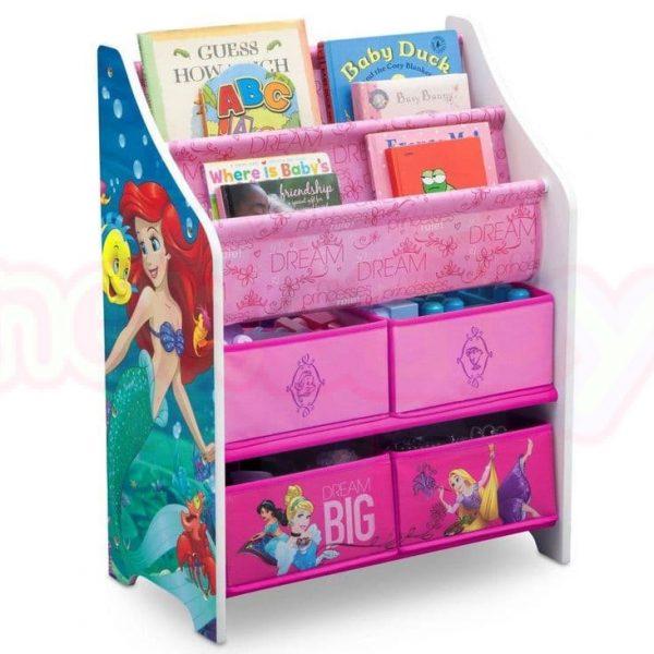 Органайзер за книжки и играчки Detla Children Princess