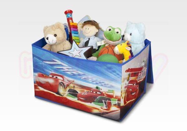 Сгъваема кутия за играчки Delta Children Cars