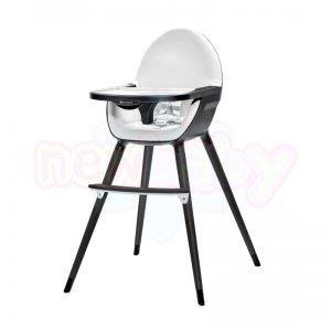 Столче за хранене 2в1 KinderKraft FINI all black
