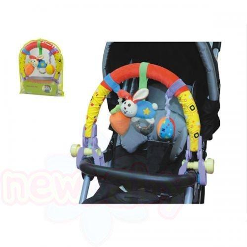Арка за бебешка количка Moni Зайче