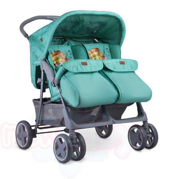 Бебешка количка за близнаци Lorelli TWIN