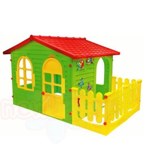 Детска къща с ограда Mochtoys