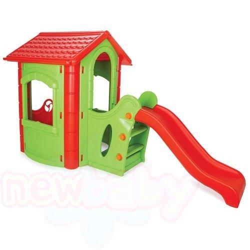 Детска къща с пързалка Pilsan