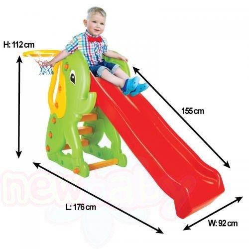 Детска пързалка Pilsan Слонче
