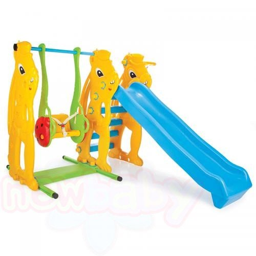 Детска пързалка с люлка Pilsan