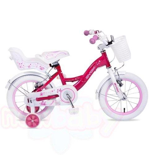 """Детски велосипед Byox 16"""" White Princess"""