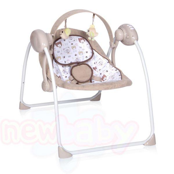Електрическа бебешка люлка Lorelli PORTOFINO