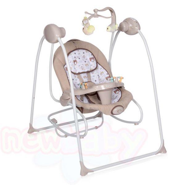 Електрическа бебешка люлка-шезлонг Lorelli TANGO