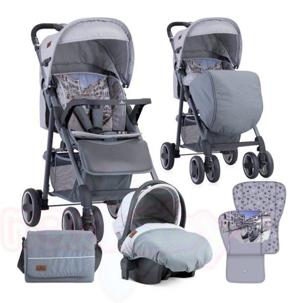 Комбинирана бебешка количка Lorelli AERO SET