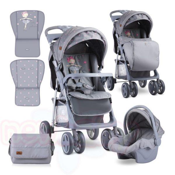 Комбинирана бебешка количка Lorelli FOXY SET