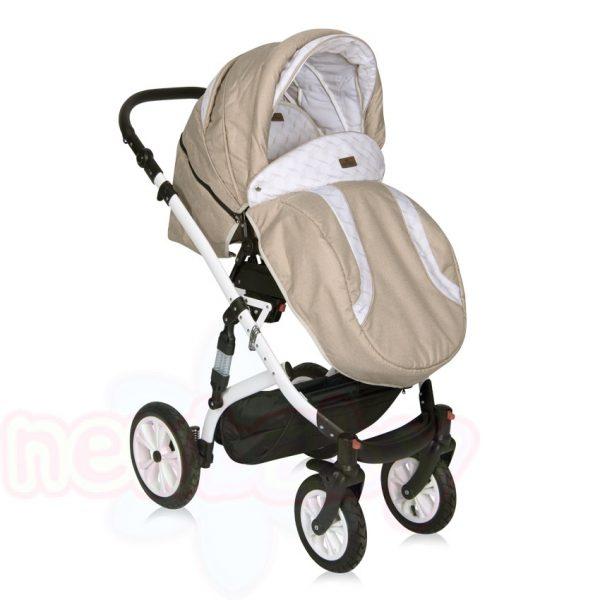 Комбинирана бебешка количка Lorelli MIA въздушни гуми