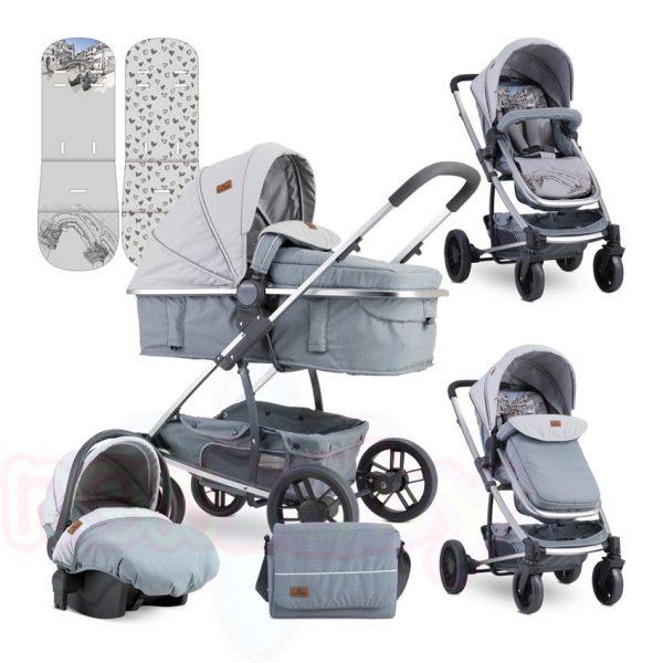 Комбинирана бебешка количка Lorelli S500 SET