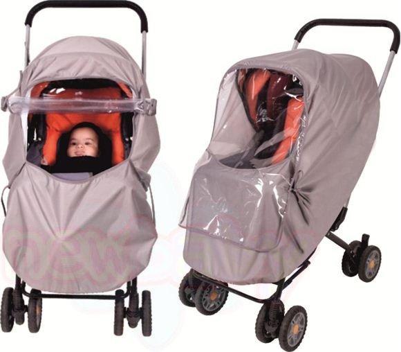 Луксозен дъждобран за бебешка количка Sevi Baby